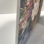 Trevor Waugh | Flower Basket | Basket of Light | Original Acrylic Painting on Canvas | Contemporary Art for Sale | Floral Art | Rural Art | Painting of Flower Baskets | Side