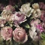 Trevor Waugh | Pink Peonies | Contemporary Oil Painting | Original Still Life Art | Flower Painting | Floral Art | Floral Interiors | Full