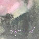 Trevor Waugh | Pink Roses at Kew | Original Oil Painting of Flowers | Flower Art | Floral Interiors | Gift Art | Flower Scenes | Rose paintings | Signature