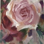 Trevor Waugh | Rose Study | Original Oil Painting | Contemporary Floral Art | Flower Painting | Floral Interiors | Full