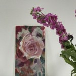Trevor Waugh | Rose Study | Original Oil Painting | Contemporary Floral Art | Flower Painting | Floral Interiors | Scale