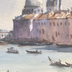 Trevor Waugh | The Grand Canal Venice | Original Watercolour Painting | Cityscape | Venetian Art | Gifts for Travellers | Travel Art | Close Up