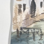 Trevor Waugh | The Grand Canal Venice | Original Watercolour Painting | Cityscape | Venetian Art | Gifts for Travellers | Travel Art | Edge 2
