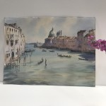 Trevor Waugh | The Grand Canal Venice | Original Watercolour Painting | Cityscape | Venetian Art | Gifts for Travellers | Travel Art | Scale