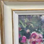 Trevor Waugh | The Long Garden | Original Contemporary Oil Painting | Affordable Art| Framing