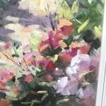 Trevor Waugh | The Long Garden | Original Contemporary Oil Painting | Affordable Art| Framing 2
