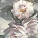 Trevor Waugh | Victorian Roses | Original Oil Painting | Contemporary Still Life | Flower Art | Floral Painting | Full