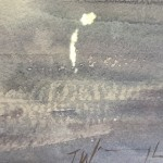 Trevor Waugh | Waiting Gondolas Venice | Original Watercolour Painting | Location Art | Travel Painting | Contemporary Art | Art for Sale Online | Signature