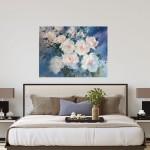 Trevor Waugh swan lake original contemporary flower painting for sale online. Affordable Art online | Bedroom Art