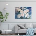 Trevor Waugh swan lake original contemporary flower painting for sale online. Affordable Art online | Living Room Art