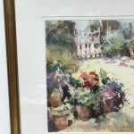 Trevour Waugh | The Old Studio | Original Framed Watercolour Painting | Gift Art | Art Presents | Summer Scenes | Flower Paintings | Contemporary Art | Floral Art | Frame