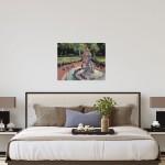 View from Buckingham Palace   Trevor Waugh   Original Oil Canvas   Contemporary Art