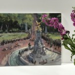 View from Buckingham Palace | Trevor Waugh | Original Oil Canvas | Contemporary Art | Scale