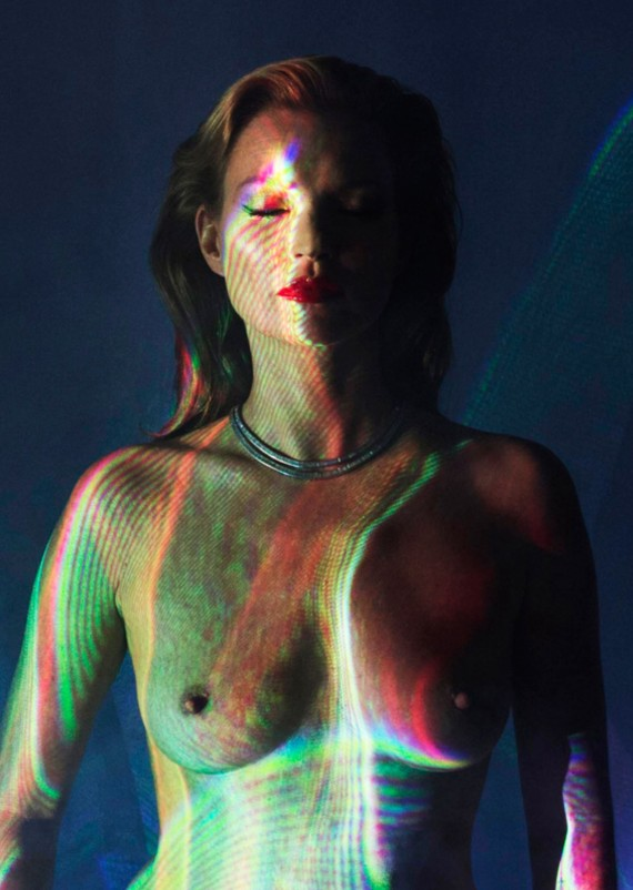 Chris Levine Kate Moss she's light photograph for sale online