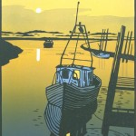 mooreTHECREEK, Colin Moore, Limited Edition Linocut Print, Original Art for Sale Online