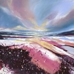 Adele Riley Original Painting, Gull Sparkle, Affordable Art for Sale Online