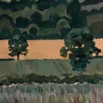 Eleanor Woolley   Linseed Fields   Landscape   Impressionistic   section1