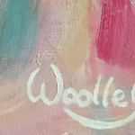 Eleanor Woolley | The Chef | Portrait | Impresstionistic | Signature