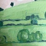 Eleanor Woolley, The Copse 1, Original Oil Landscape Painting 2