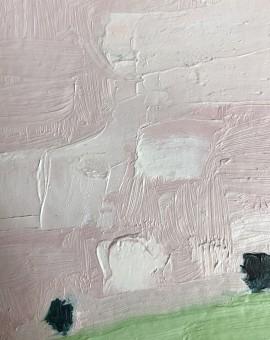 Eleanor Woolley, The Copse 1, Original Oil Landscape Painting