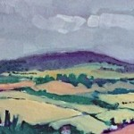 Eleanor Woolley | View from May Hill | Landscape | Impressionistic | section 1