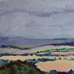 Eleanor Woolley | View from May Hill | Landscape | Impressionistic | section 2