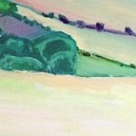 Eleanor Woolley | View from May Hill | Landscape | Impressionistic | section 3