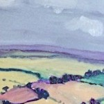 Eleanor Woolley | View from May Hill | Landscape | Impressionistic | section 7