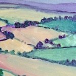 Eleanor Woolley | View from May Hill | Landscape | Impressionistic | sesction 5