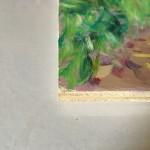 Eleanor Woolley | Walking out from Deddington | Landscape | Impressionistic | Board side