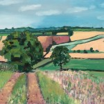 Eleanor Woolley | Walking out from Deddington | Landscape | Impressionistic