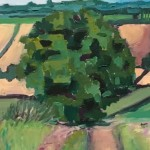 Eleanor Woolley | Walking out from Deddington | Landscape | impressionistic | Section 1