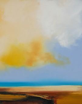 Constantine Bay is an original seascape painting by Sophie Berger.Constantine Bay is an original seascape painting by Sophie Berger.