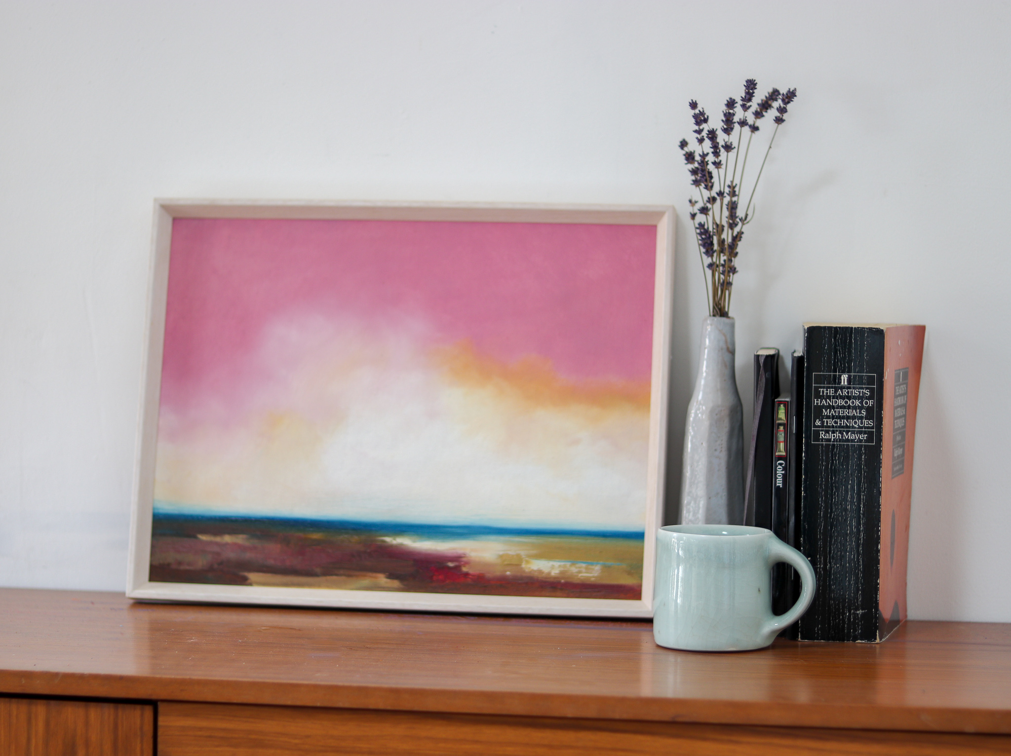 Tides Are Turning is an original seascape painting by Sophie Berger.