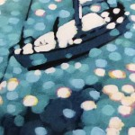 Limited Edition Gordon Hunt Print, Turquoise Bay, Boating Art, Art of Cornwall, Affordable Art for Sale Online 4
