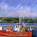 Limited Edition James Bartholomew Print, PW788, Boating Art for Sale, British Harbours copy 2