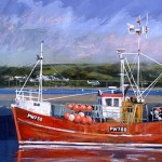 Limited Edition James Bartholomew Print, PW788, Boating Art for Sale, British Harbours copy 4