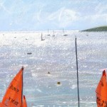 Limited Edition James Bartholomew Print for Sale, Mirror Dinghies, Abersoch 3, Boating Art, Seascape Art, Art of Wales copy 3