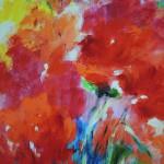 Mary Chaplin, poppies in full sun (detail1) Wychwood Art