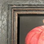 Original Dani Humberstone Oil Painting, Very Red Apple, Framed Contemporary Painting, Food Art, Art for the Kitchen 10