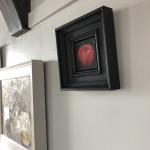 Original Dani Humberstone Oil Painting, Very Red Apple, Framed Contemporary Painting, Food Art, Art for the Kitchen 4