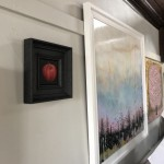 Original Dani Humberstone Oil Painting, Very Red Apple, Framed Contemporary Painting, Food Art, Art for the Kitchen 5