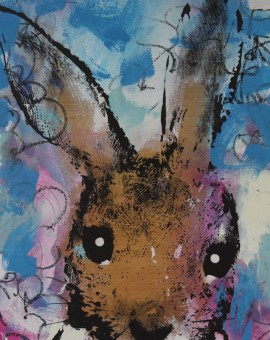 Original Harry Bunce Screenprint, Sorry #84, Animal Art for Sale 10