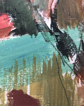 Original Jemma Powell Painting, Ibiza Gardens, Paintings of Ibiza, Gifts for Women 12