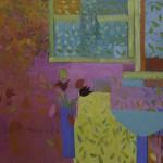 T Pemberton Fresh from the Garden 100 x 120 cm oil on canvas 72dpi 7539