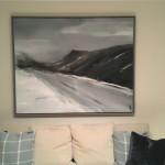 Top Road Virginia Ray Wychwood Art in situ