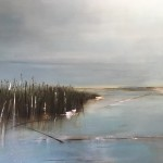 Virginia Ray artist Large seascape painting for sale