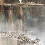 Virginia Ray Shaded Pond Wychwood Art close up 2