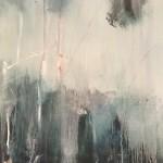 Virginia Ray Shaded Pond Wychwood Art close up 3