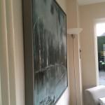 Virginia Ray Shaded Pond Wychwood Art  side view